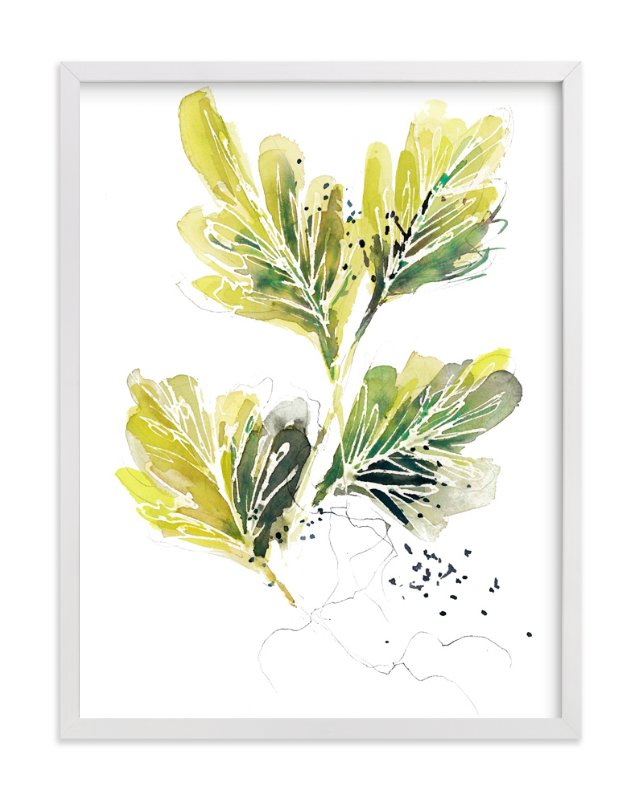 """""""Tangle"""" - Art Print by Kelly Ventura in beautiful frame options and a variety of sizes."""