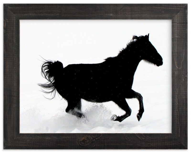 """Free To Be"" - Art Print by Leslie Le Coq in beautiful frame options and a variety of sizes."