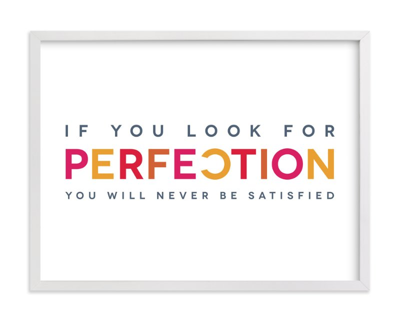 """""""Perfectly Imperfect"""" - Art Print by Luckybug Designs in beautiful frame options and a variety of sizes."""