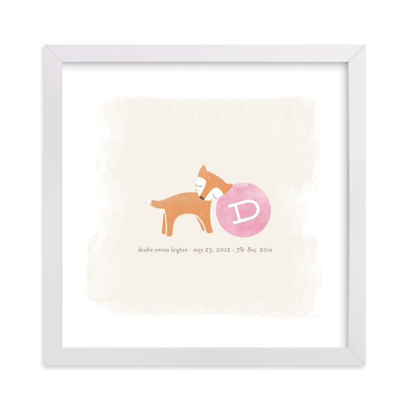 """Frolic"" - Nursery Custom Art Print by nocciola design in beautiful frame options and a variety of sizes."