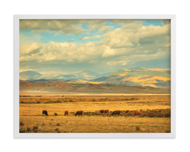 """Land of Infinity"" - Art Print by Debra Butler in beautiful frame options and a variety of sizes."