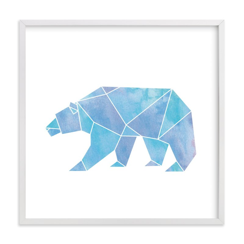"""""""Arctic"""" - Art Print by Becca Thongkham in beautiful frame options and a variety of sizes."""