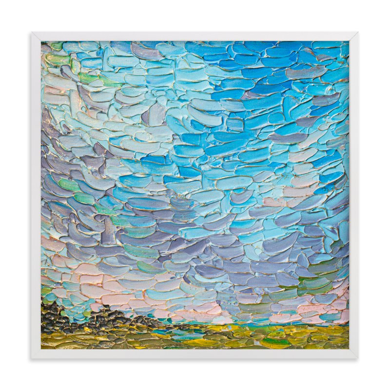 """""""Joyful Landscape"""" - Art Print by Stephanie Carignan in beautiful frame options and a variety of sizes."""
