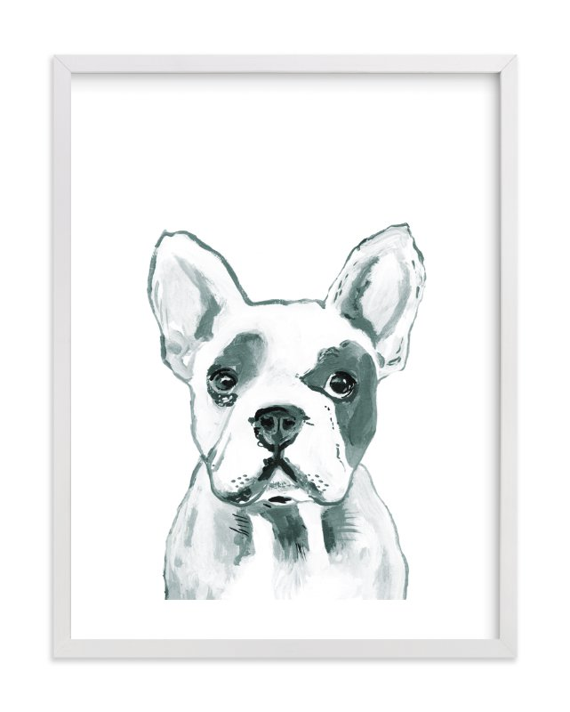 """Hey Mr. Dog"" by Makewells in beautiful frame options and a variety of sizes."