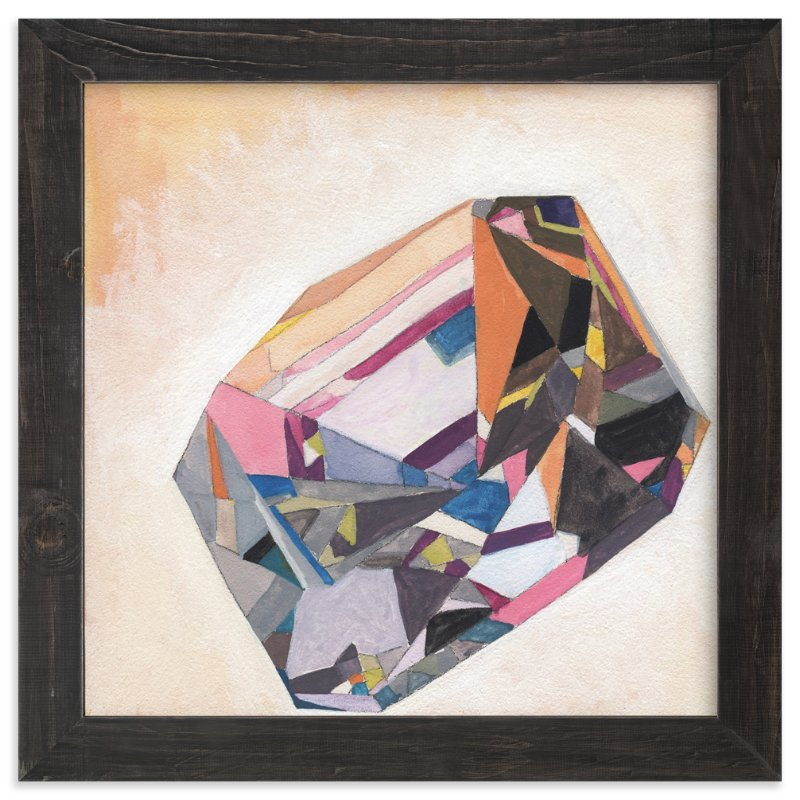 """Prism Diamond"" - Art Print by Paper Monkey Press in beautiful frame options and a variety of sizes."