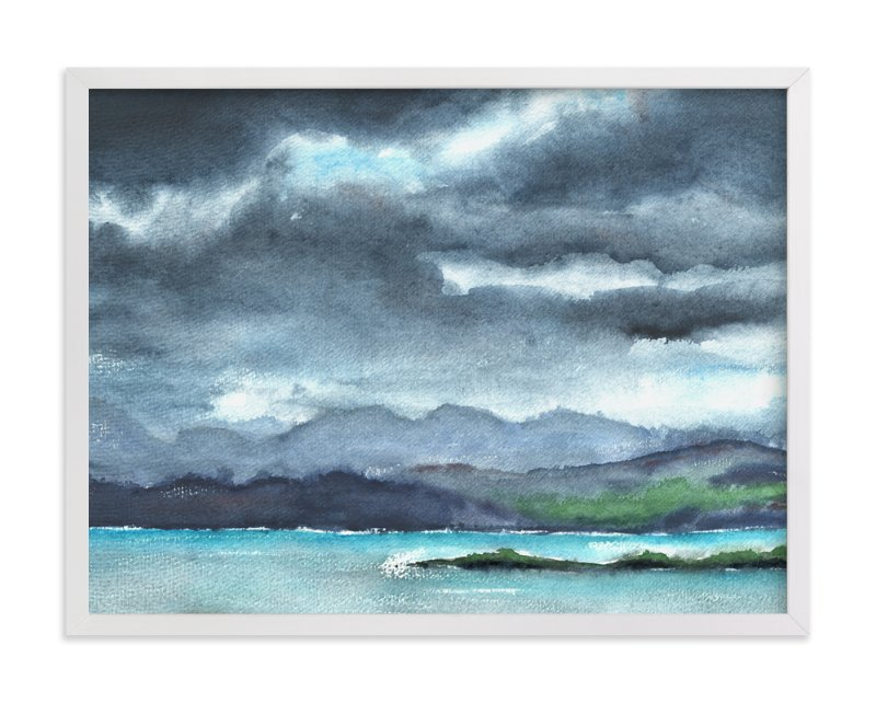 """Cloud Symphony Ring of Kerry Ireland"" - Art Print by Eva Marion in beautiful frame options and a variety of sizes."