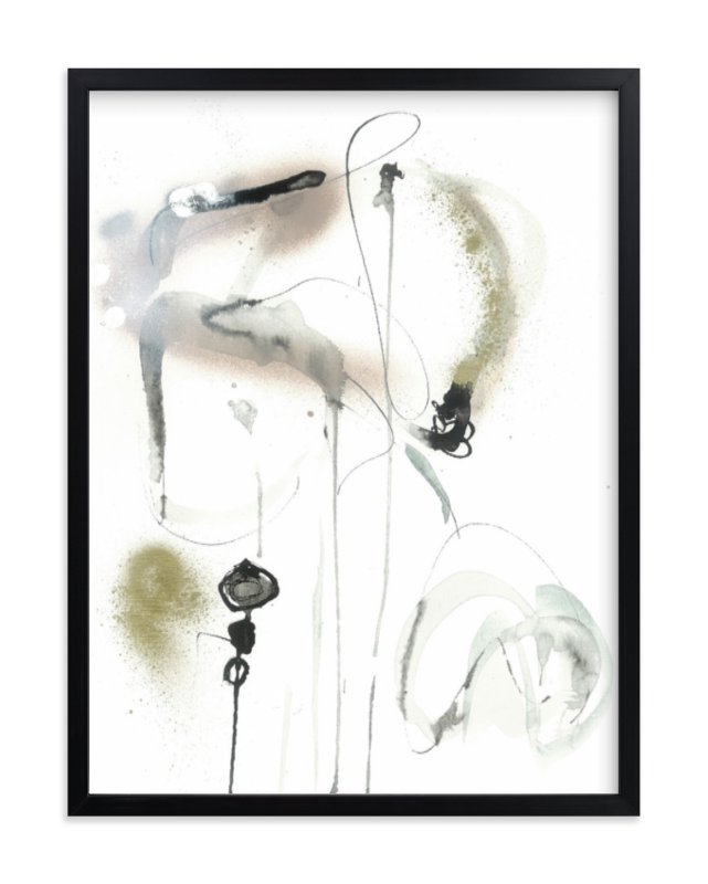 """""""quiet"""" - Limited Edition Art Print by ADRIENNE JACKSON in beautiful frame options and a variety of sizes."""