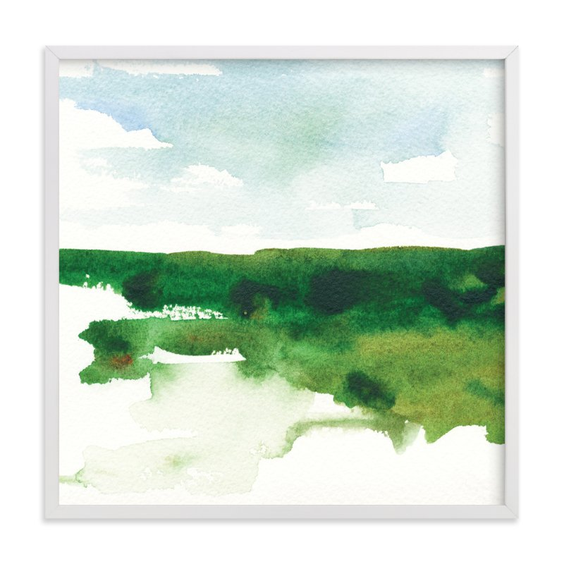 """""""MEET ME THERE study 2"""" - Limited Edition Art Print by Renee Anne in beautiful frame options and a variety of sizes."""