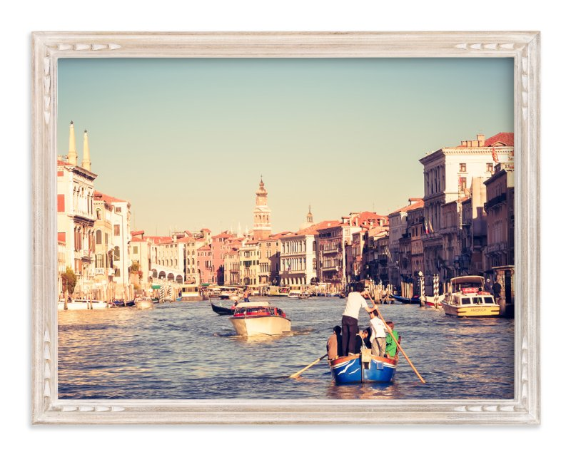 """Venice Venice No. 1"" - Art Print by Qing Ji in beautiful frame options and a variety of sizes."