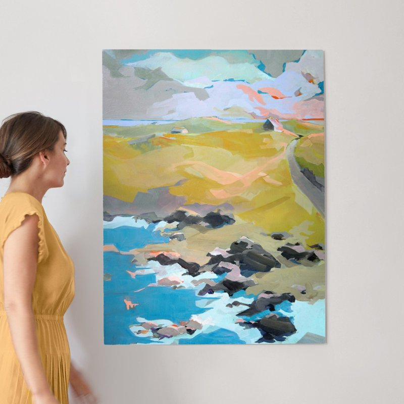 Out To Sea Wall Art Prints by Jess Franks | Minted