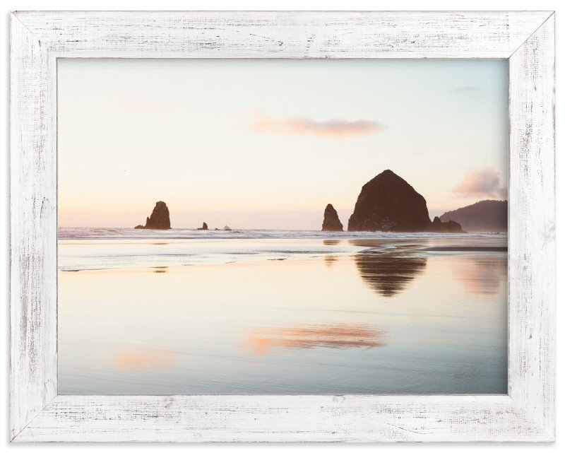 """Cannon Beach No. 1"" - Art Print by Kamala Nahas in beautiful frame options and a variety of sizes."