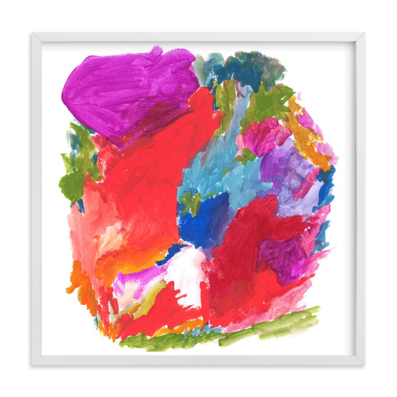 """Carnival Colors"" - Art Print by Lisa McLean in beautiful frame options and a variety of sizes."