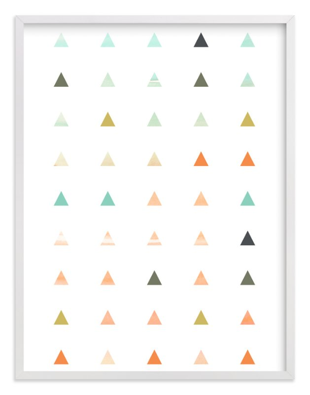 """""""Apertures No. 3"""" - Art Print by Genna Cowsert in beautiful frame options and a variety of sizes."""