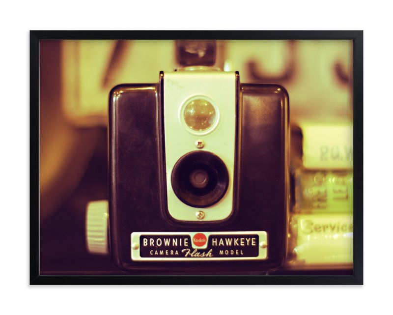 """""""Brownie Hawkeye """" - Art Print by Elemental in beautiful frame options and a variety of sizes."""