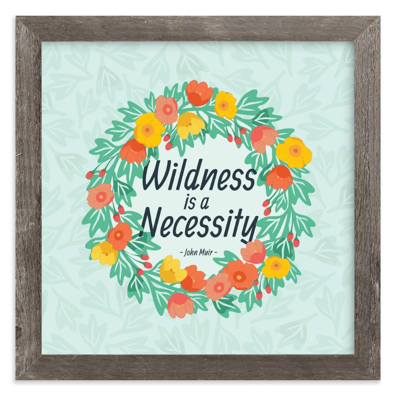 """Wildness Floral"" - Art Print by Katie Tandlmayer in beautiful frame options and a variety of sizes."
