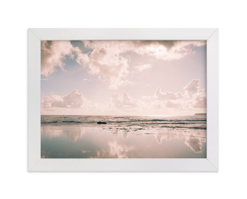 """""""Reflecting Clouds"""" - Art Print by Anna Western in beautiful frame options and a variety of sizes."""