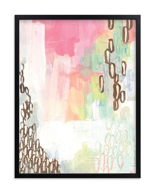 """Painted Study Drops"" - Art Print by Alethea and Ruth in beautiful frame options and a variety of sizes."