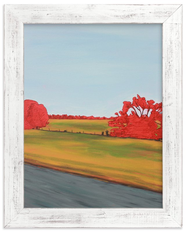 """""""Drive Bye Asphalt"""" - Art Print by Jeff Preuss in beautiful frame options and a variety of sizes."""