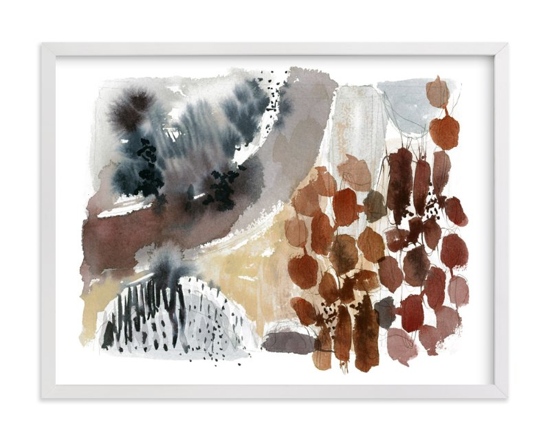 """Hushed No. 1"" - Art Print by Kelly Ventura in beautiful frame options and a variety of sizes."