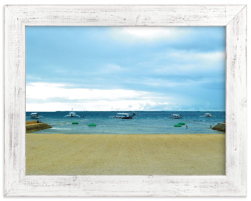 """beach1"" - Art Print by aticnomar in beautiful frame options and a variety of sizes."