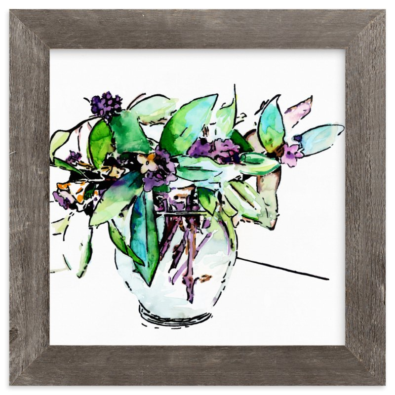 """""""I Odora You Daphne """" - Art Print by Lisa McLean in beautiful frame options and a variety of sizes."""