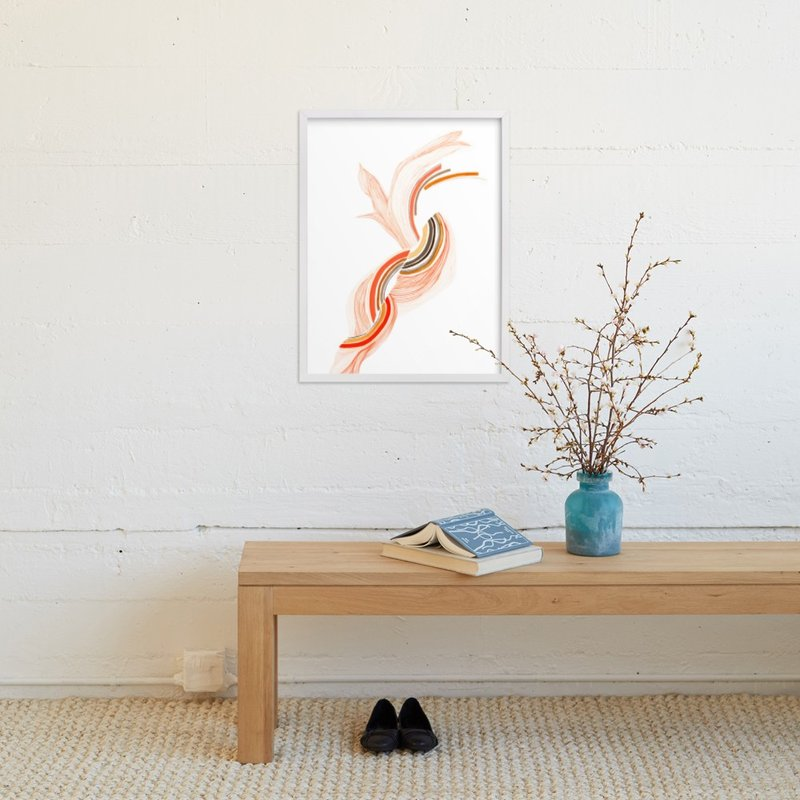 """""""More Than A Feeling"""" - Art Print by J. Wink in beautiful frame options and a variety of sizes."""