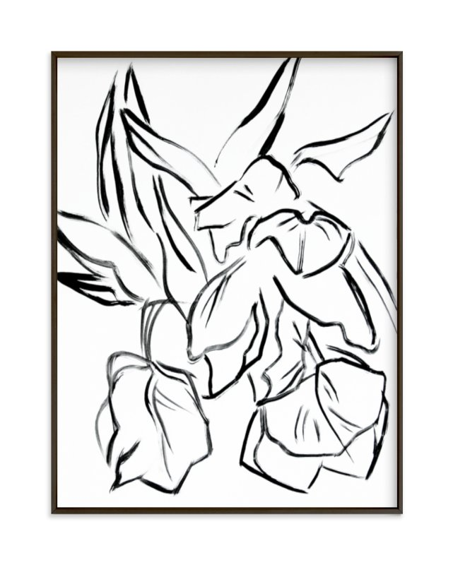 """Parrot Tulips"" - Art Print by Lynne Millar in beautiful frame options and a variety of sizes."