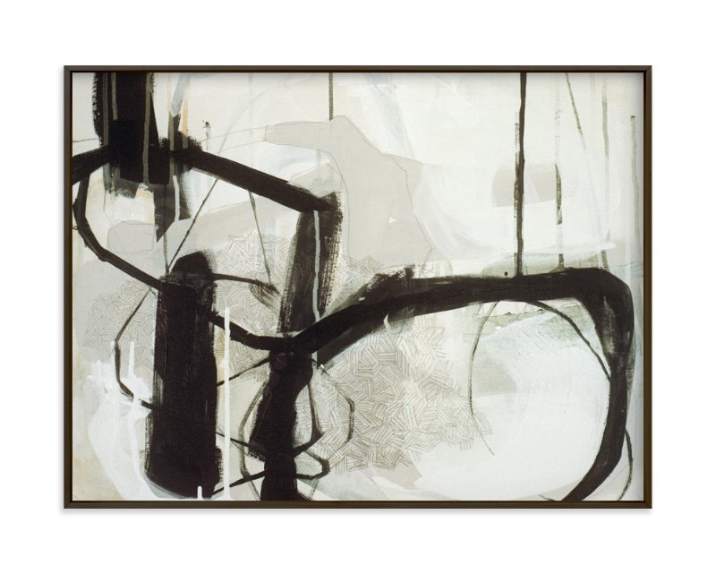 """""""Abstract Untitled 1"""" - Art Print by Kirsta Niemie Benedetti in beautiful frame options and a variety of sizes."""