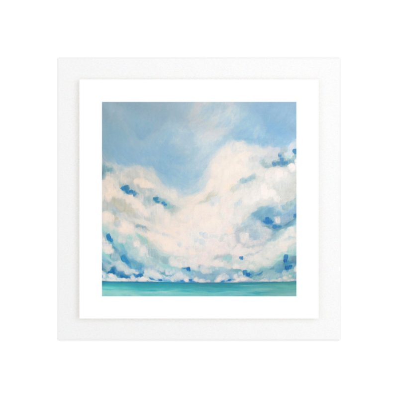 White Blur Wall Art Prints By Jennifer Hallock Minted