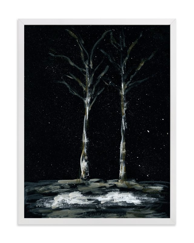 """Night Dreams"" - Art Print by Simona Cavallaro in beautiful frame options and a variety of sizes."