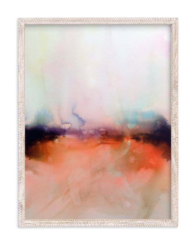 """Abstract Lands Series : Fields 4"" - Art Print by Marta Spendowska in beautiful frame options and a variety of sizes."