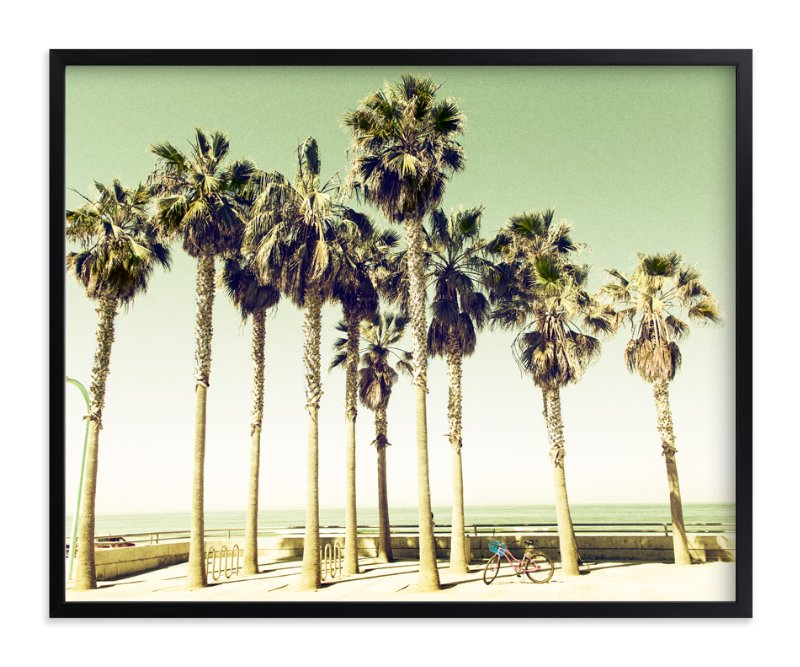 """""""Pacific Beach"""" - Art Print by Michelee Scott in beautiful frame options and a variety of sizes."""