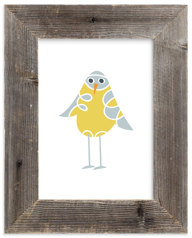 """""""Sweet Baby Bird"""" - Art Print by Jan Shepherd in beautiful frame options and a variety of sizes."""