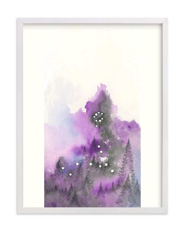 """Pisces Constellation"" - Art Print by Emily Magone in beautiful frame options and a variety of sizes."