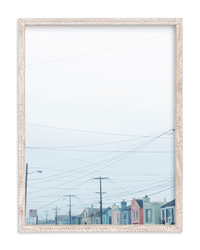 """San Francisco's Finest"" - Art Print by Adriana Rojas in beautiful frame options and a variety of sizes."