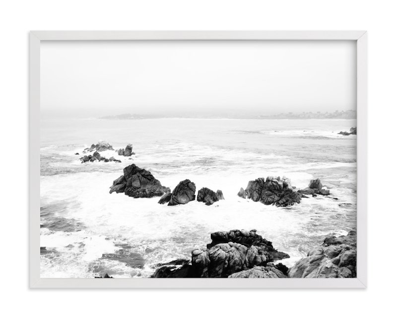 """Point Lobos Flash"" - Art Print by Helina Chin in beautiful frame options and a variety of sizes."