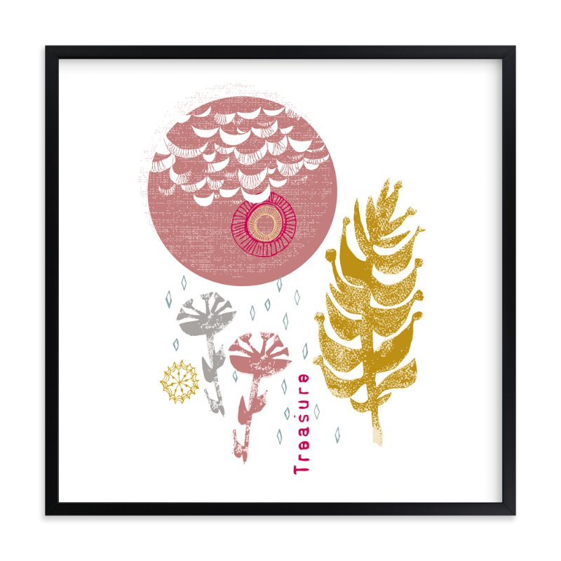 """Essential Garden: Treasure"" - Art Print by Eva Marion in beautiful frame options and a variety of sizes."