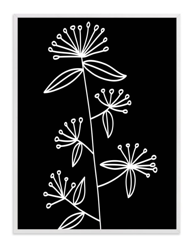 """""""botanical leaves1"""" - Art Print by aticnomar in beautiful frame options and a variety of sizes."""