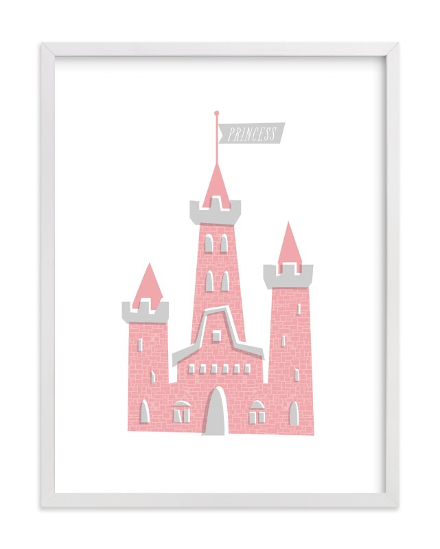 """""""Fairy Princess"""" - Art Print by Three Kisses Studio in beautiful frame options and a variety of sizes."""
