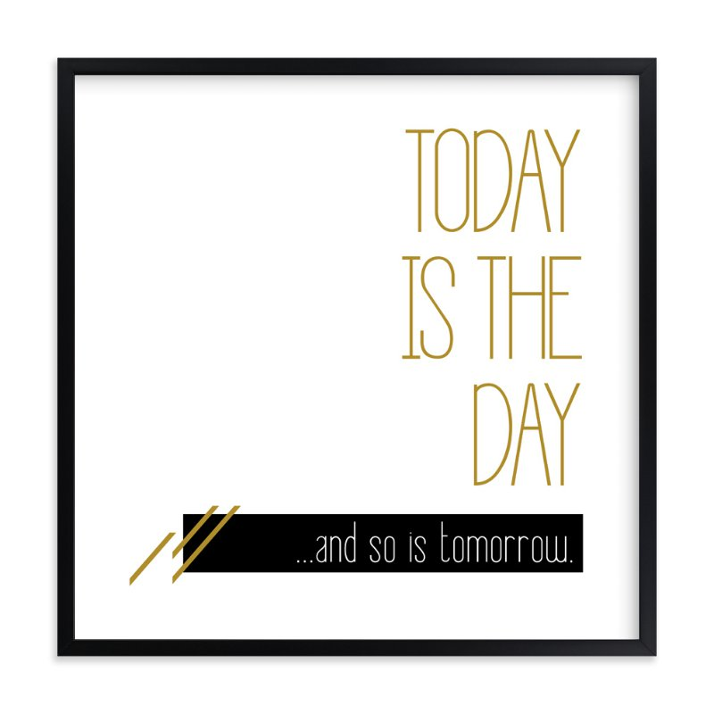 """""""procrastination"""" - Art Print by Niki Digrigorio in beautiful frame options and a variety of sizes."""