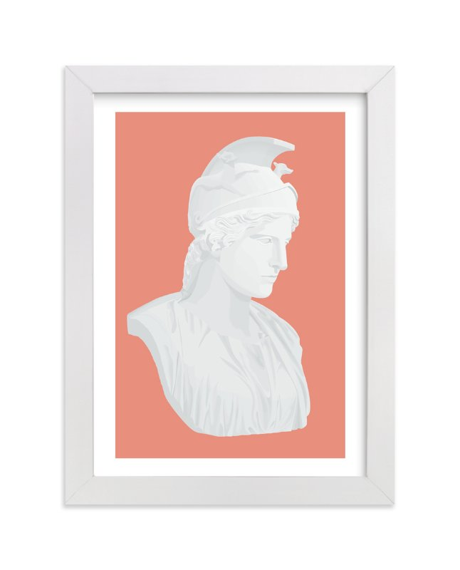 """Rome or Bust"" - Art Print by Joseph Manibusan in beautiful frame options and a variety of sizes."