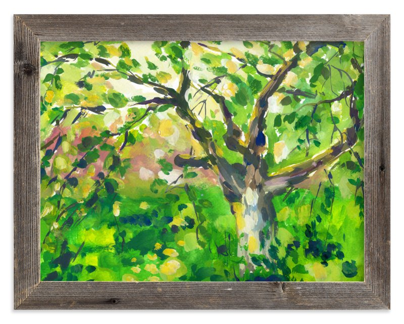 """""""Tree"""" - Art Print by Alexandra Dzh in beautiful frame options and a variety of sizes."""