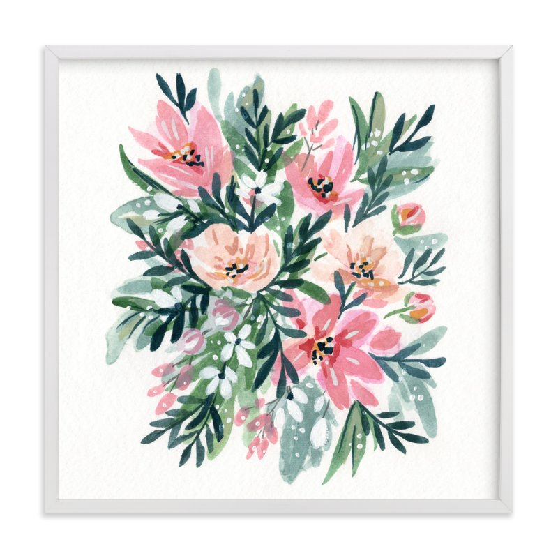 """50s Paperwhites"" - Limited Edition Art Print by Natalie Malan in beautiful frame options and a variety of sizes."