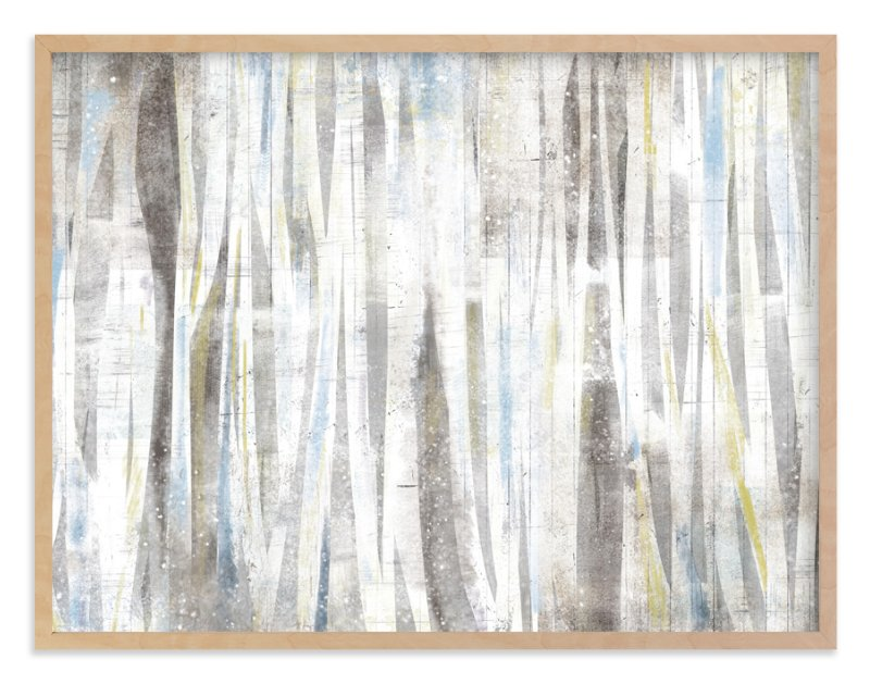 """Serene Forest"" - Art Print by Hooray Creative in beautiful frame options and a variety of sizes."