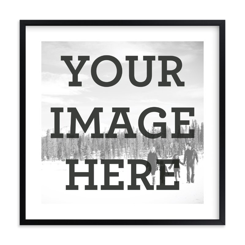"""""""The Big Picture"""" - Custom Photo Art Print by Minted Custom in beautiful frame options and a variety of sizes."""
