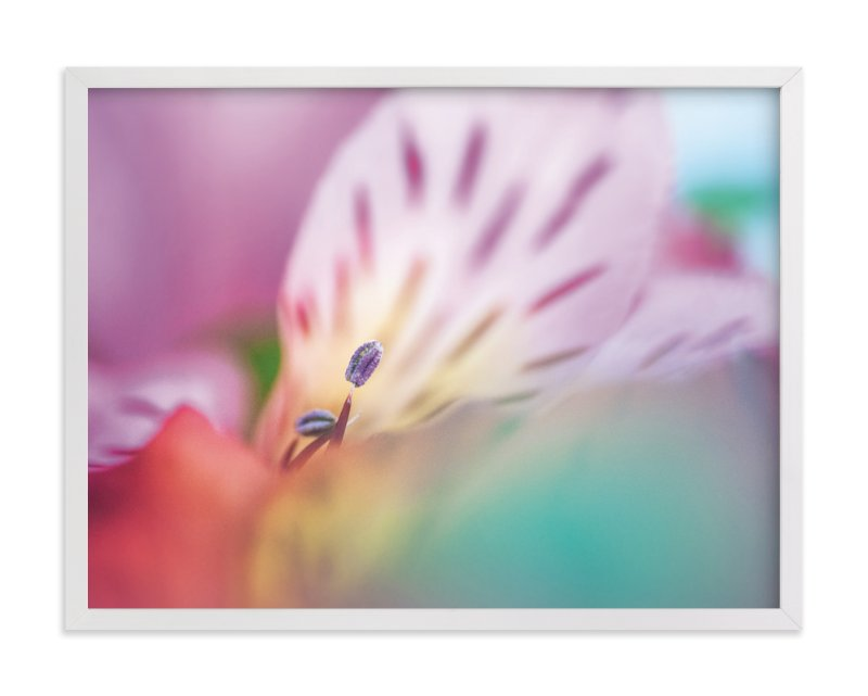 """""""A Sea of Color"""" - Art Print by Smile Peace Love in beautiful frame options and a variety of sizes."""