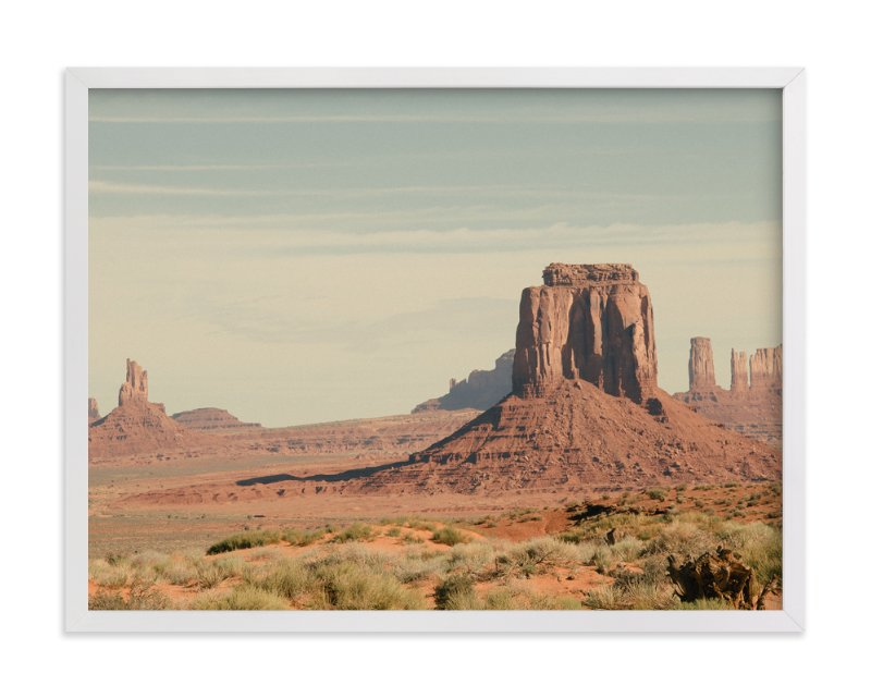"""Monument Valley"" - Art Print by Kamala Nahas in beautiful frame options and a variety of sizes."