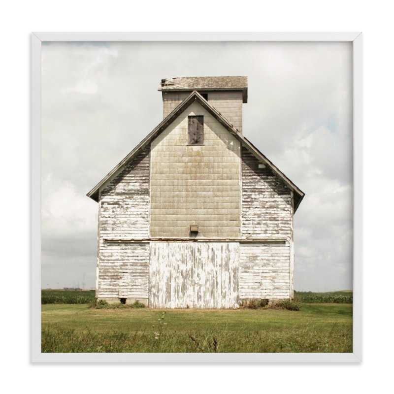 """weathered barn"" - Art Print by Baumbirdy in beautiful frame options and a variety of sizes."