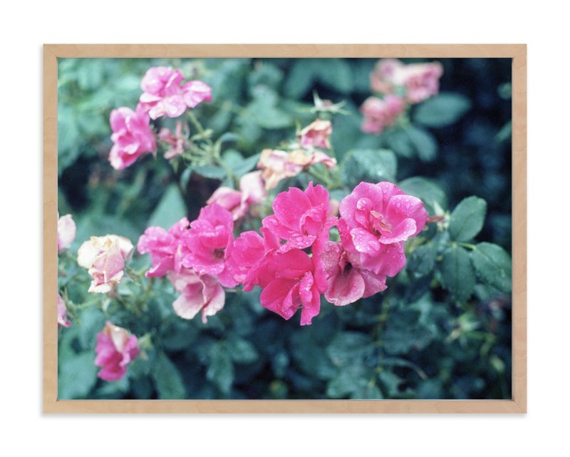 """""""Floral #1"""" - Art Print by Natalie S in beautiful frame options and a variety of sizes."""