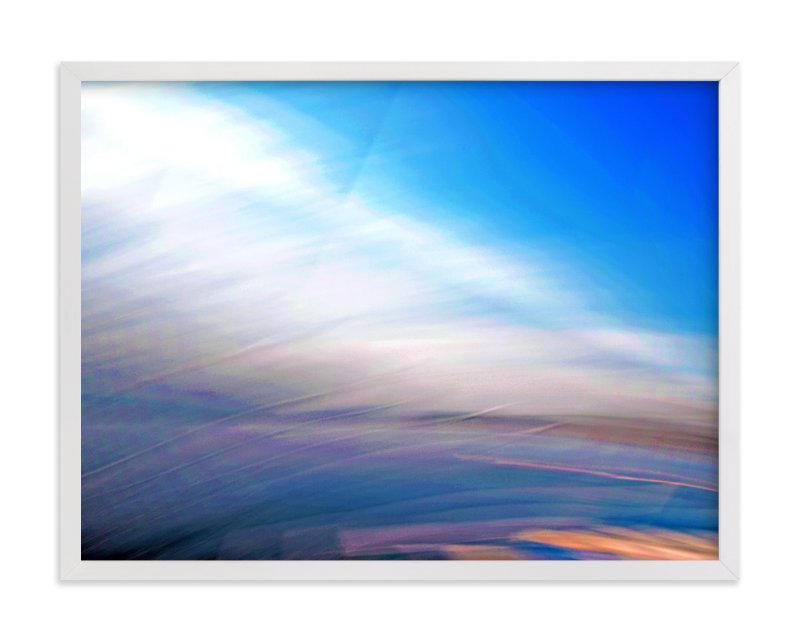"""""""Abstractscape25"""" - Art Print by NSMARK in beautiful frame options and a variety of sizes."""